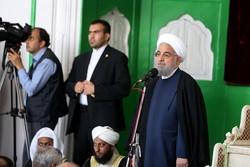 الرئيس روحاني: لو اتحد المسلمون لما تجرأ الصهاينة على احتلال فلسطين
