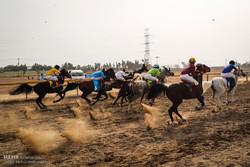 مسابقات کورس قهرمانی سوار کاری در بندرعباس برگزار شد