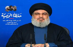 السيد نصر الله يلقي الجمعة كلمة بمناسبة عيد المقاومة والتحرير