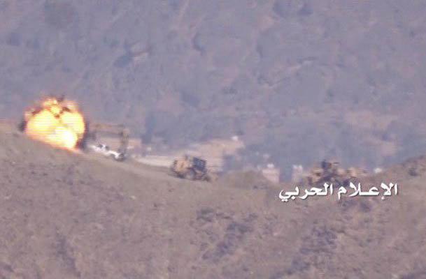 ارتش یمن مقر نیروهای عربستان را در جیزان هدف قرار داد
