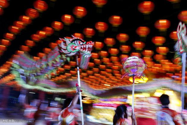 إحتفالات بمناسبة حلول العام الصيني الجديد