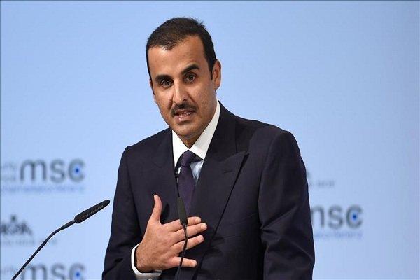 بسته ۵۰ میلیون دلاری امیر قطر برای آوارگان سوری