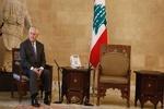 تحقیر وزیر خارجه آمریکا در کاخ ریاست جمهوری لبنان
