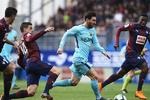 پیروزی بارسلونا مقابل ایبار/آبی اناریها آماده نبرد با چلسی شدند