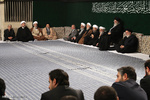 Leader attends 2nd day of Fatemieh mourning ceremony