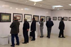 نمایشگاه گروهی هنرمندان تجسمی در قزوین برگزار شد