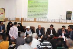 بازدید رئیس کل محاکم عمومی وانقلاب کرمان از بازداشتگاه موقت کرمان