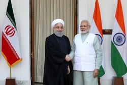 Cumhurbaşkanı Ruhani Hindistan Başbakanı ile görüştü