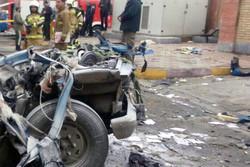 انفجار در پمپ گاز جاده قدیم کرج/۴ نفر مصدوم شدند