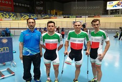 Iranian cyclist wins first gold at Para Asian Track C'ships