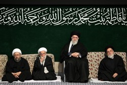 Leader attends 1st Fatemieh mourning session