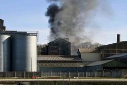 آتش سوزی در دیِپ فرانسه