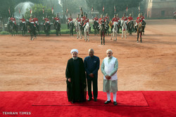Rouhani's visit to India