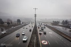 جو آرام در بیشتر جادههای کشور/۵ محور مسدود است