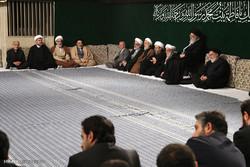 اولین شب عزاداری فاطمیه ۱۴۳۹ در حسینیه امام خمینی