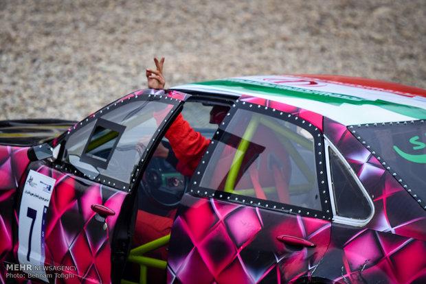 İran'daki ralli yarışlarından kareler