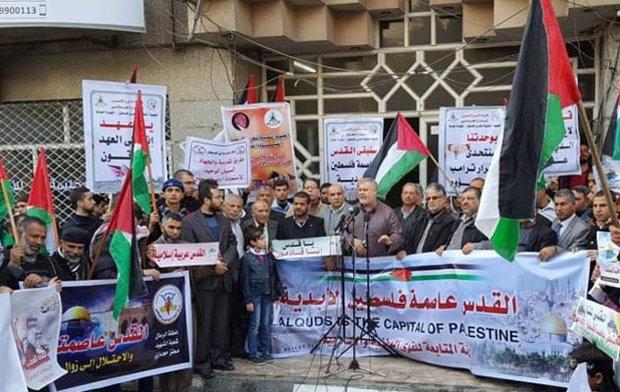 الجهاد الاسلامي: المشروع الأمريكي لا يستهدف فلسطين فقط وإنما تقسيم المنطقة بأكملها