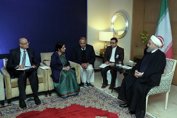 ایران برای توسعه روابط همه جانبه با هندوستان، محدودیتی قائل نیست,