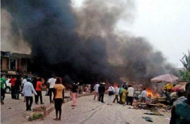 مقتل 18 شخصا في تفجير انتحاري وسط سوق بنيجيريا