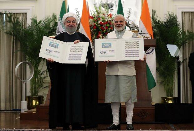 Tehran, New Delhi sign 15 pacts