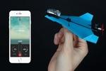 هواپیمای کاغذی که با گوشی کنترل می شود