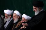 پخش مراسم عزاداری حضرت زهرا(س) با حضور رهبر انقلاب