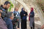 بازدید معاون امور استانها از پشت صحنه سریال شبکه امید