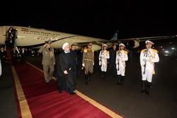 President leaves New Delhi for Tehran