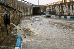 وقوع سیلاب و بالا آمدن آب رودخانه ها در استان کرمانشاه