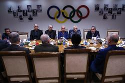 نشست مسئولان کمیته ملی المپیک