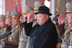 رژه موشک های بالستیک کره شمالی