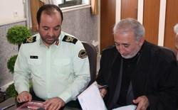 ورزش و جوانان و نیروی انتظامی کرمانشاه تفاهم نامه امضا کردند