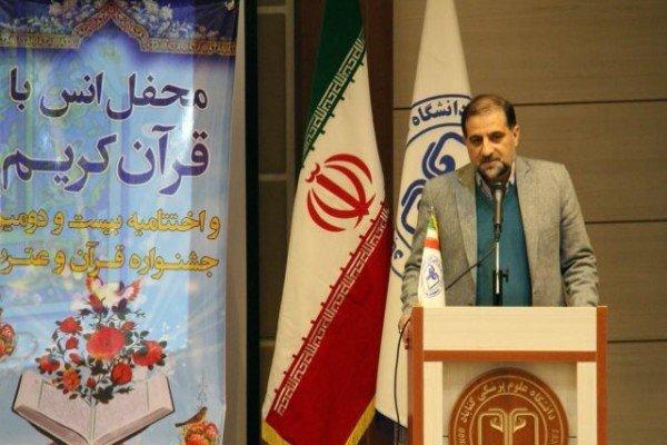 تشریح برنامه های مرکز قرآن و عترت وزارت بهداشت در ۴۰ سالگی انقلاب
