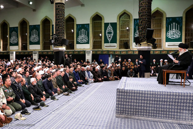 Leader receives people of East Azerbaijan