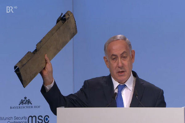 Netanyahu's ridiculous show in Munich
