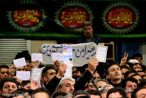 People of East Azerbaijan Province meet with Ayatollah Khamenei