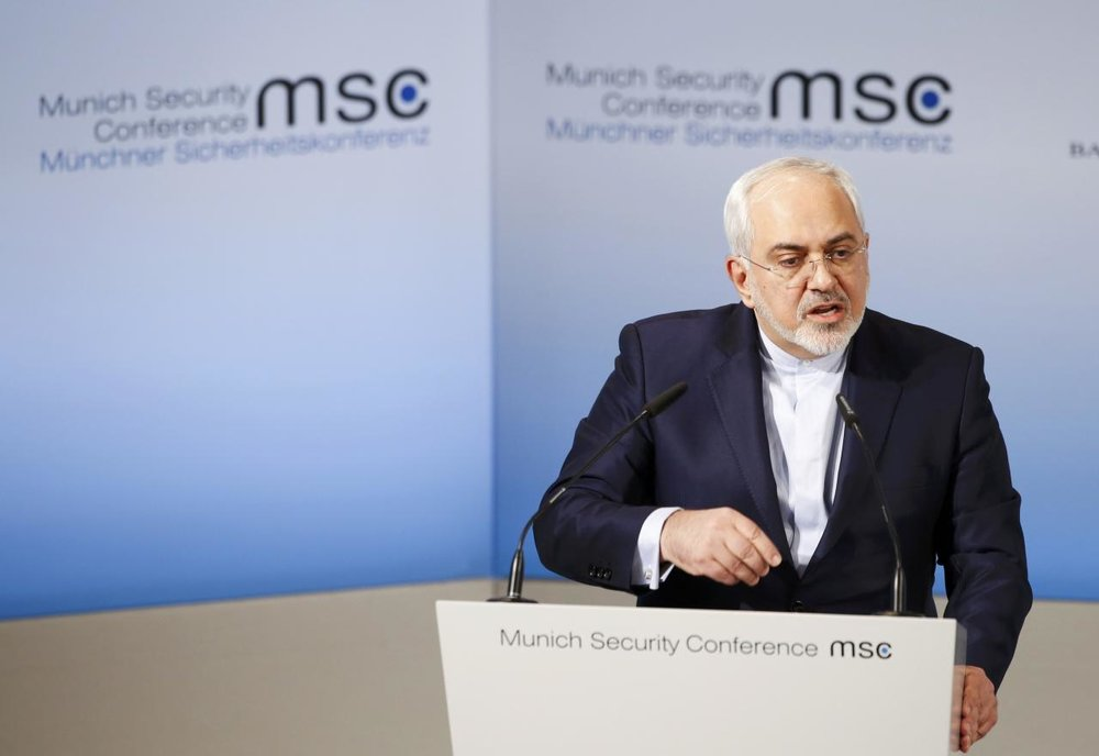 Iran's Zarif Calls Netanyahu Speech At Munich Conference 'Cartoonish Circus'