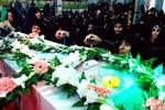 مراسم شبی با شهدا در مسجد حضرت فاطمه الزهرا(س) خرمآباد