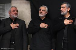 اليوم الثاني من مجلس عزاء الفاطمية بحضور قائد الثورة الإسلامية / صور