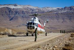 روز دوم امدادرسانی در محل سقوط هواپیمای ATR72 آسمان