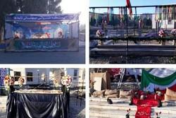 آیین تشییع ۲ شهید گمنام دفاع مقدس در دانشگاه آزاد پیشوا برگزار شد