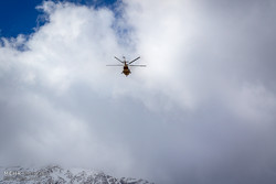 وضعیت کابین بالگرد در زمان کشف قطعات هواپیمای تهران - یاسوج