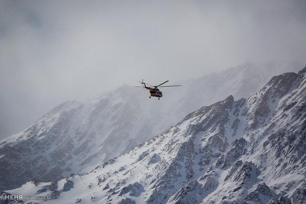 مواصلة البحث عن ركام طائرة ATR72 رحلة طهران - ياسوج