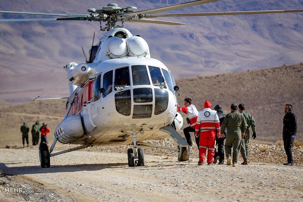 المتسلقون الى موقع سقوط طائرة طهران – ياسوج قضوا ليلتهم في 30 مئوية تحت الصفر