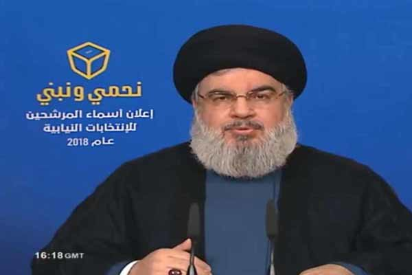 السيد نصر الله:  برنامج حزب الله في الانتخابات حماية لبنان من الاطماع الصهيونية