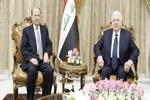 بغداد میں عراق اور لبنان کے صدور کی ملاقات/ عراق کی ارضی سالمیت اور اتحاد پر تاکید