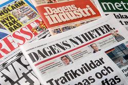 روزنامههای سوئدی