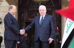 رئیس جمهور عراق و لبنان