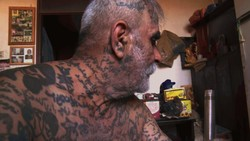 "A scene from ""Tattooing in Iran"""