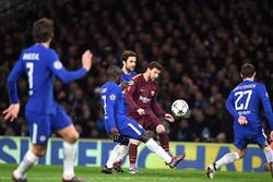 تساوی چلسی بدشانس مقابل بارسلونا/ فرار از شکست با گل لیونل مسی